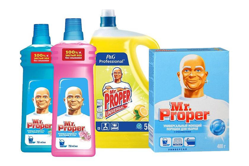 Средства для уборки Mr. Proper (Мистер Пропер)оптом
