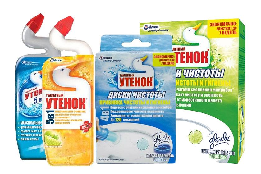 Дезинфицирующие средства Туалетный утенок оптом