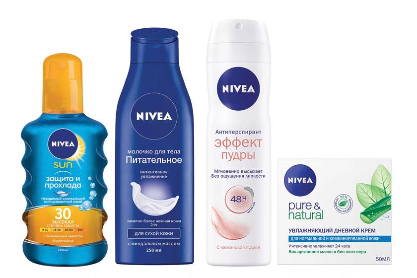 Косметические товары Nivea (Нивея) оптом