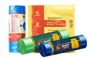 Мешки для мусора UFAPACK (УФАПАК)оптом