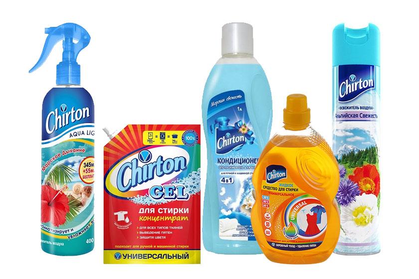 Аэрозольная продукция Chirton