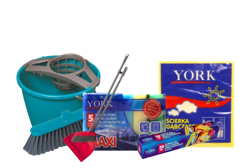 Бытовая химия и товары для дома York